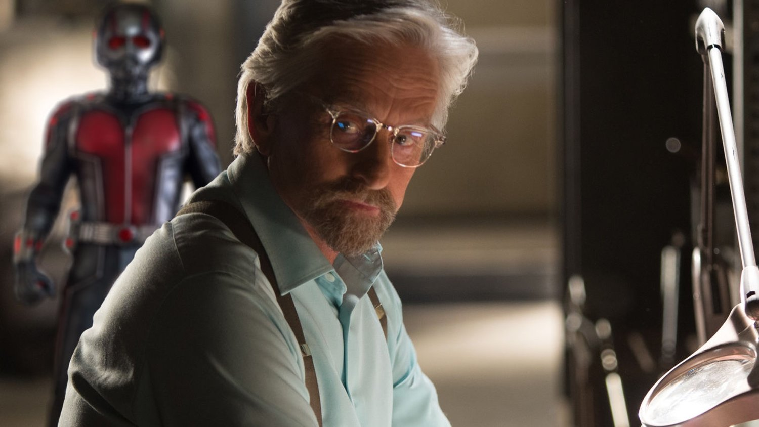 Michael Douglas Confirms He'll Return as Hank Pym in ANT-MAN AND THE WASP