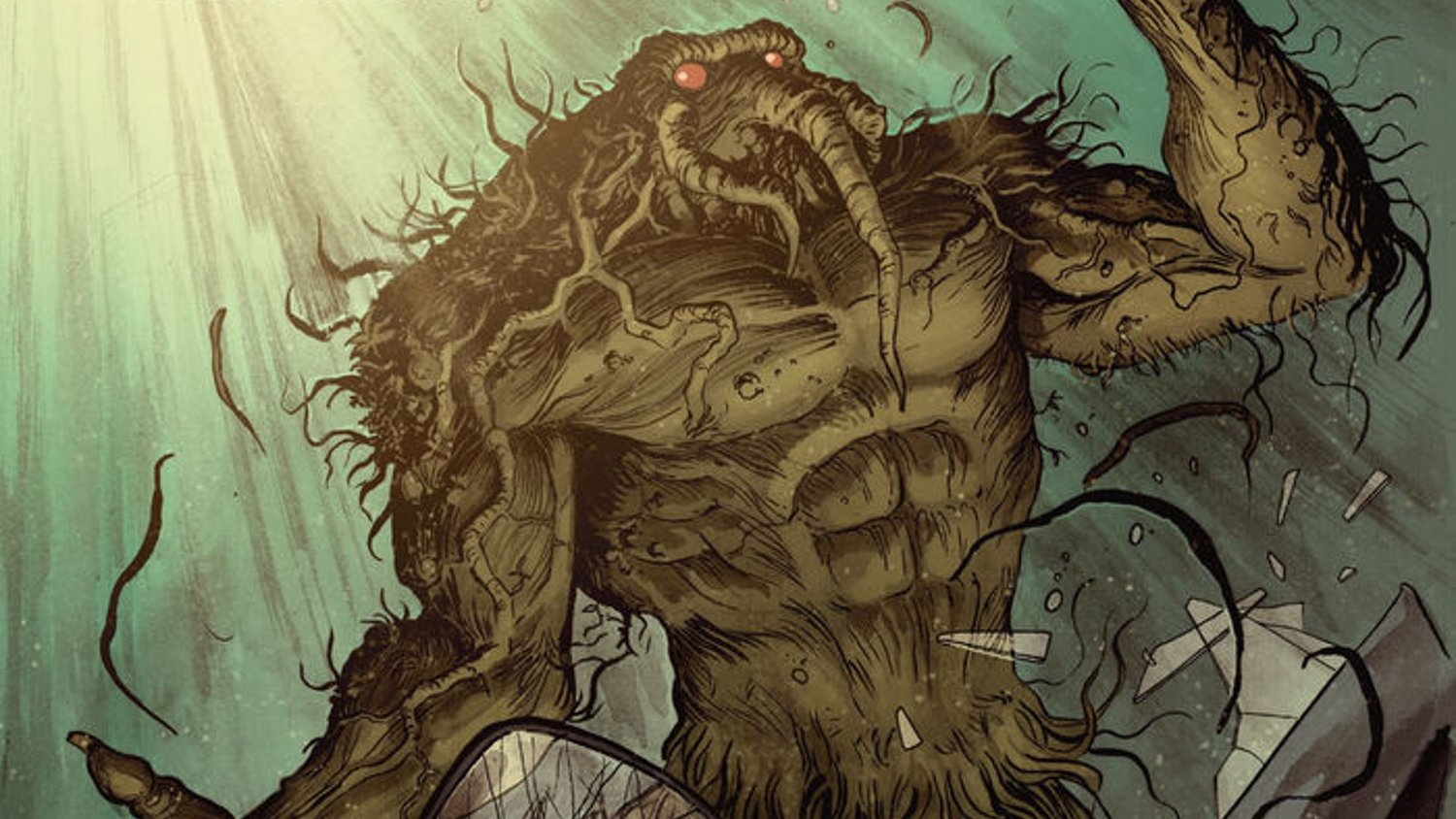 Check Out R.L. Stine's Marvel Comic Series MAN-THING Preview and Cover Art Collection