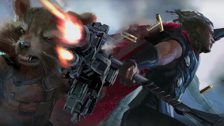 It Looks Like Thor Will Be Wielding the Weapon Jarnbjorn in AVENGERS: INFINITY WAR