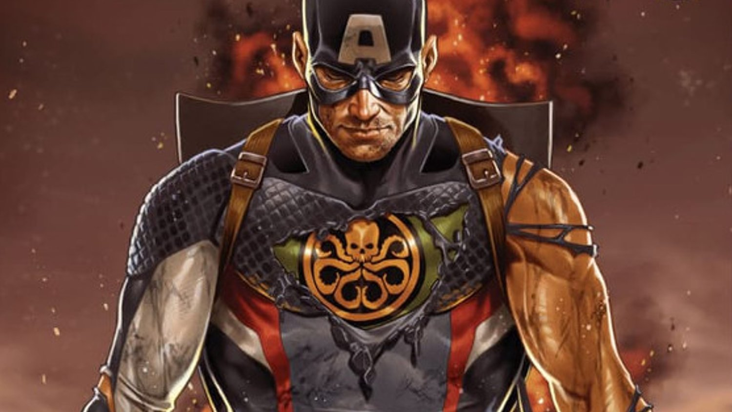 Captain America's Hydra Suit Teased on the Cover of Marvel Comics' SECRET EMPIRE #0