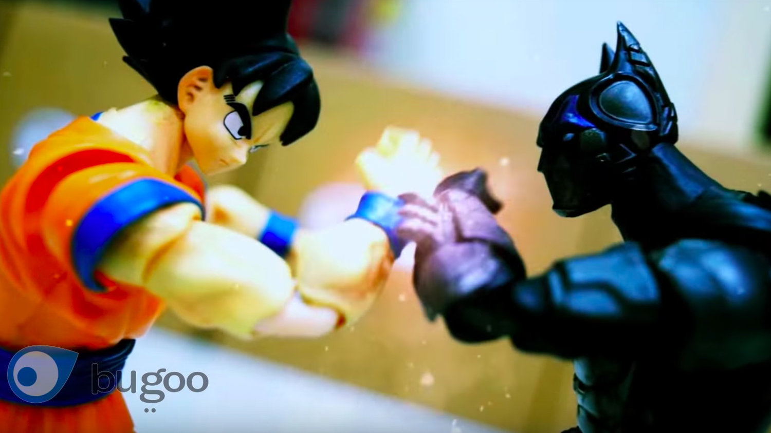Goku Brawls With Android Batman in Fan-Made Stop-Motion Video
