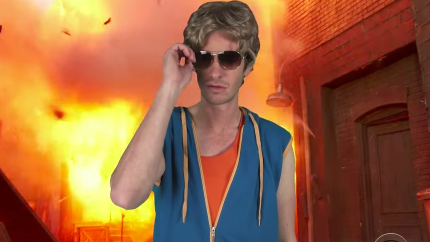 Andrew Garfield Stars in a Loony Action Film Trailer Written by Kids Called TEENAGE WAR