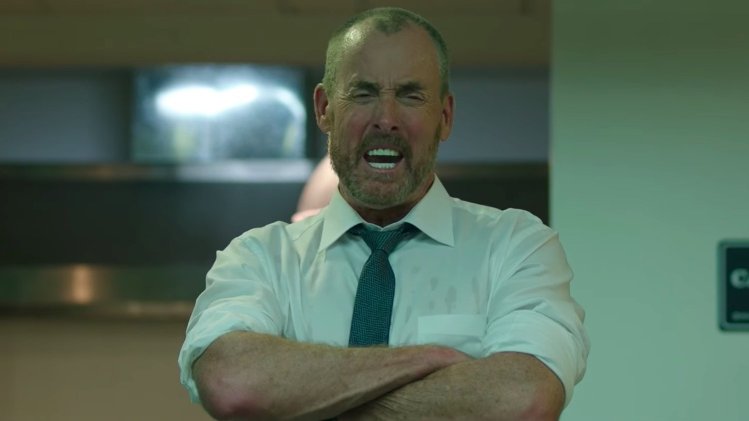Co-Workers Debate Their Bloody Fate in Clip from James Gunn's THE BELKO EXPERIMENT