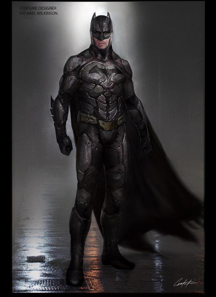 Alternate Batman Design Revealed In Concept Art For