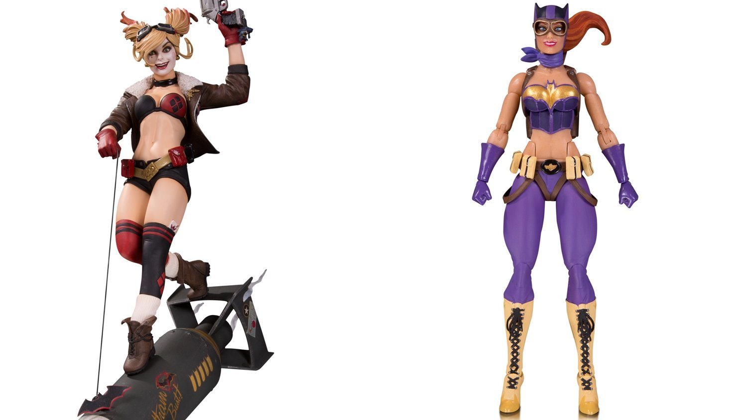 DC Reveals Their Cool New DC Bombshells Action Figure and Statuette Collection