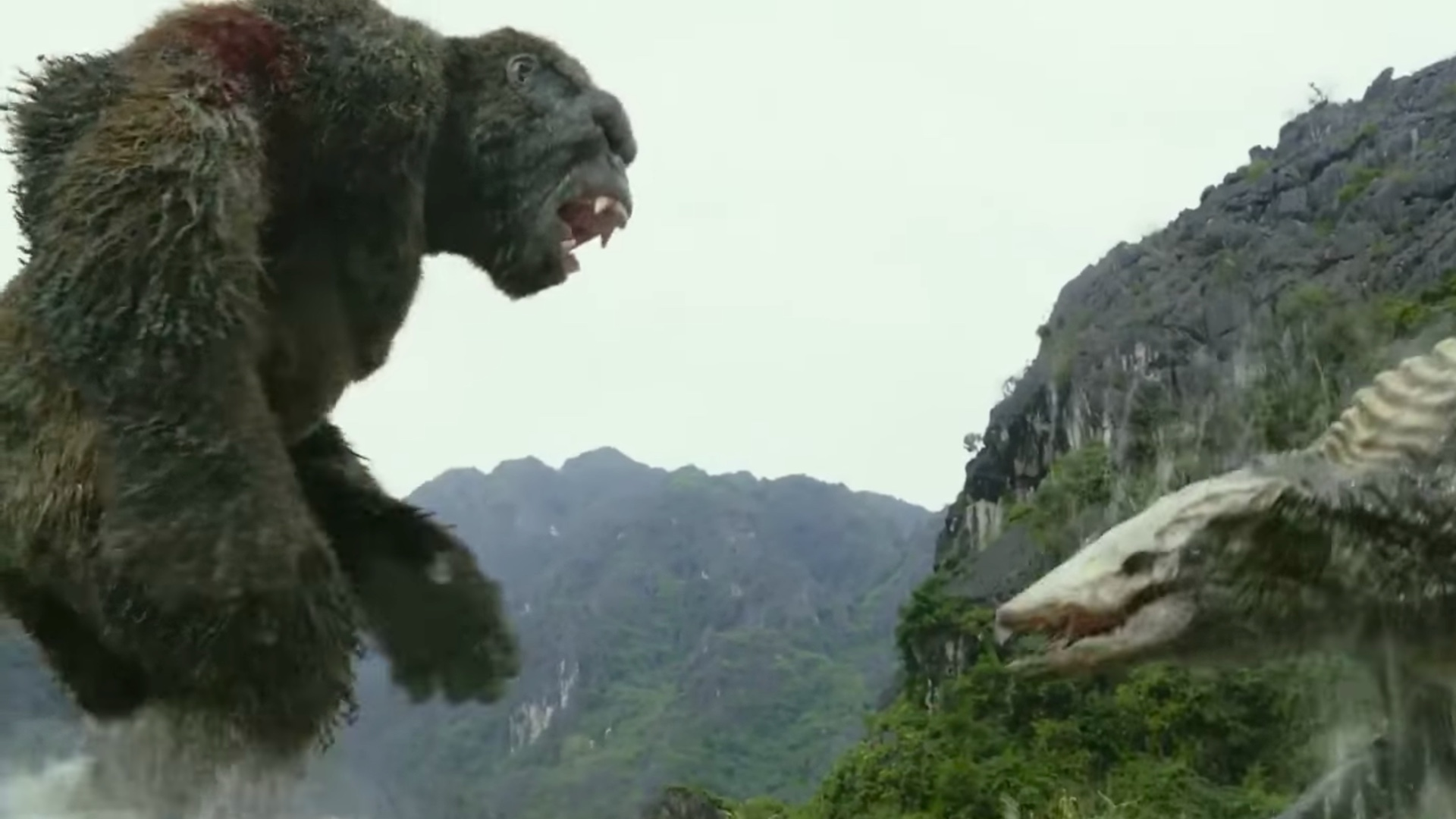 Kong Unleashes His Fury in 4 New KONG: SKULL ISLAND Promo ...