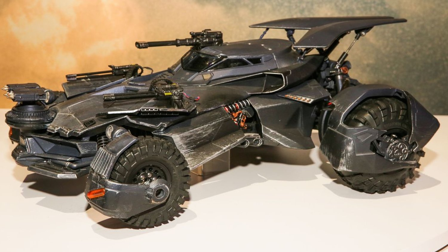 Check Out a Radical RC Batmobile From JUSTICE LEAGUE Along With Some Premium Statues