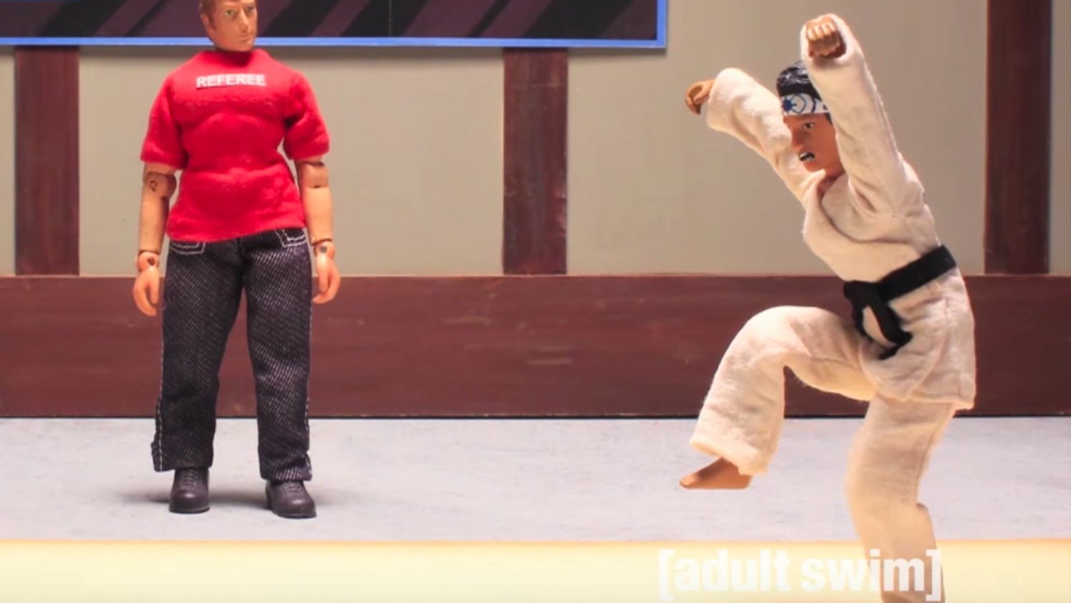 Watch 3 of ROBOT CHICKEN's Hilarious KARATE KID Skits -