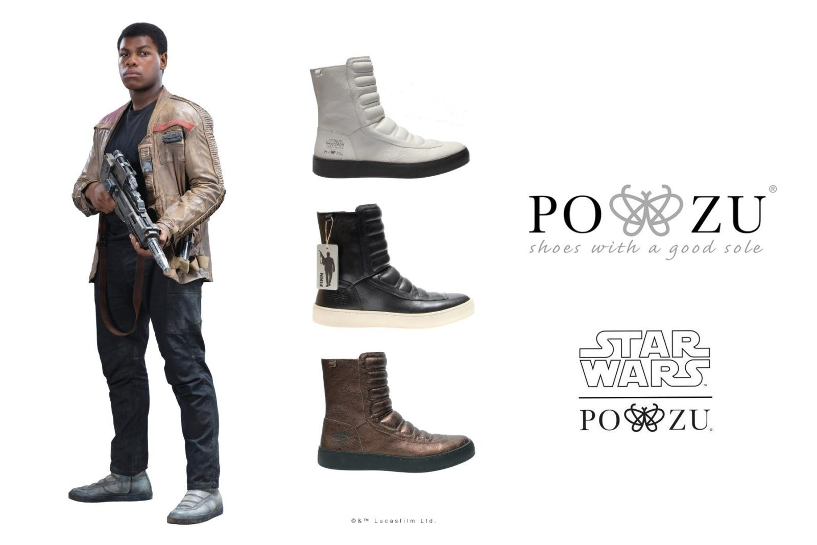 now you can own finn s rad boots from star wars the force awakens