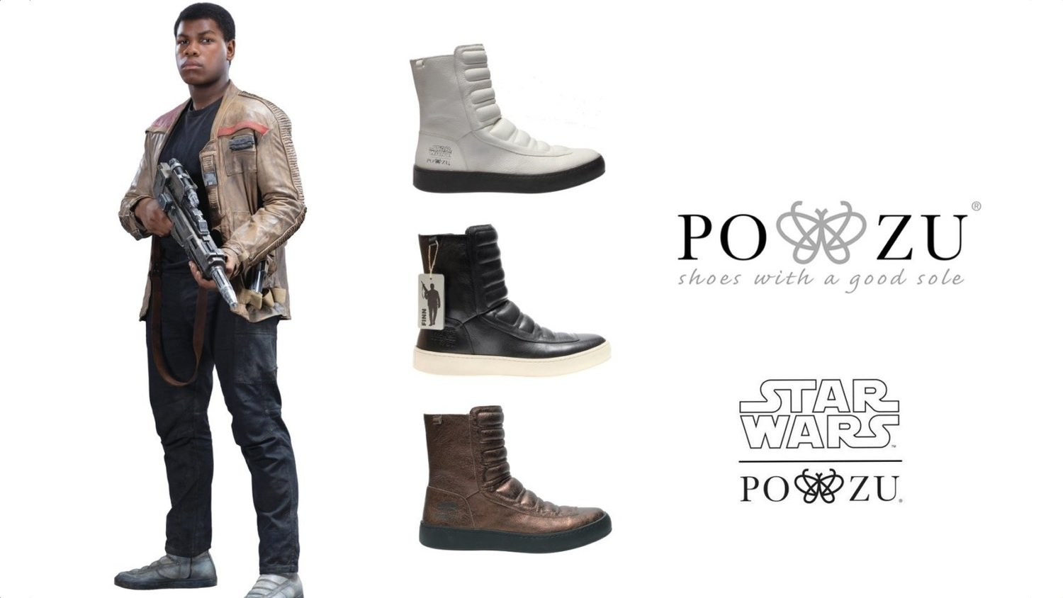 Now You Can Own Finn's Rad Boots From STAR WARS: THE FORCE AWAKENS