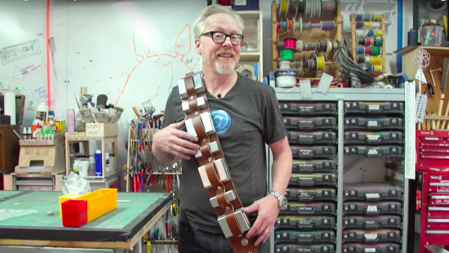 Watch Adam Savage Build Chewbacca's Bandolier in One Day Build
