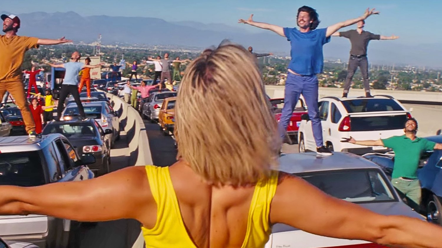 Watch LA LA LAND's Big Opening Musical Number Rehearsal Shot on the Director's iPhone
