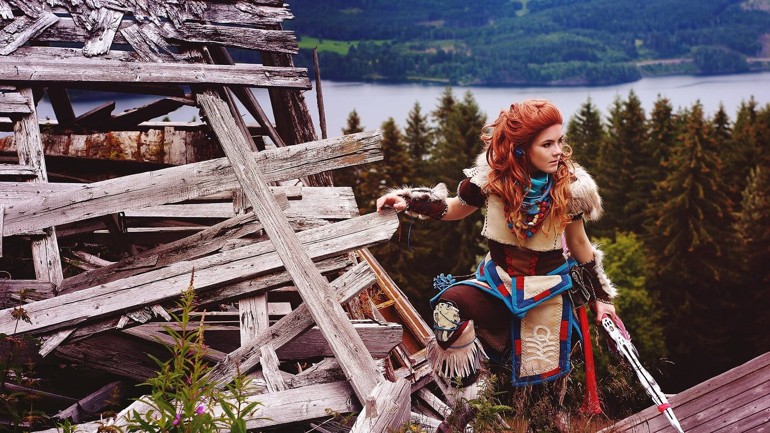 This Awesome HORIZON ZERO DAWN Cosplay Gets Featured By Playstation