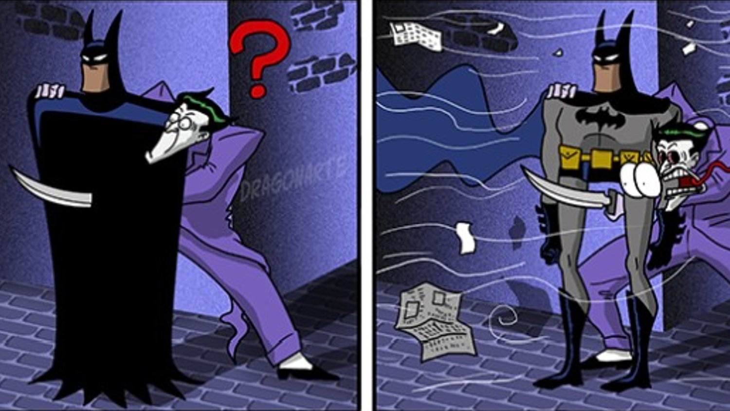 Batman Is the Real Joker in This Funny Comic Strip Series