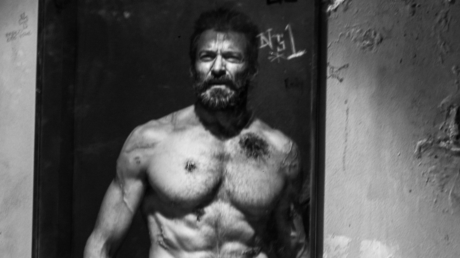 Here's a Somber Black and White International Promo For LOGAN
