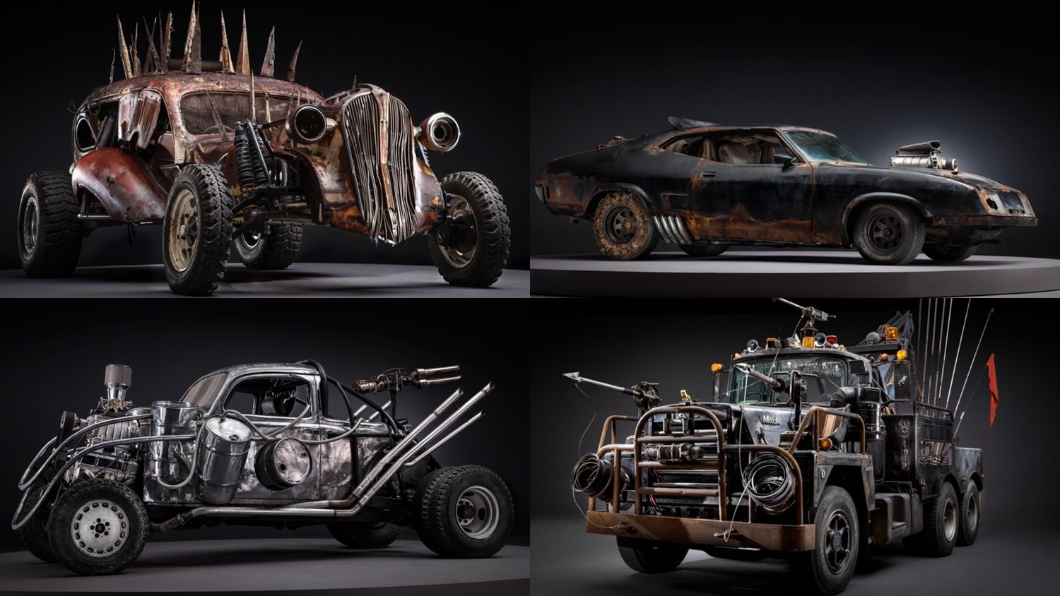 Stunning Photos Of The Badass Cars Of Mad Max Fury Road Before They