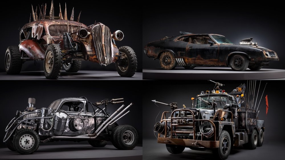 Art Car Museum >> Stunning Photos of the Badass Cars of MAD MAX: FURY ROAD ...