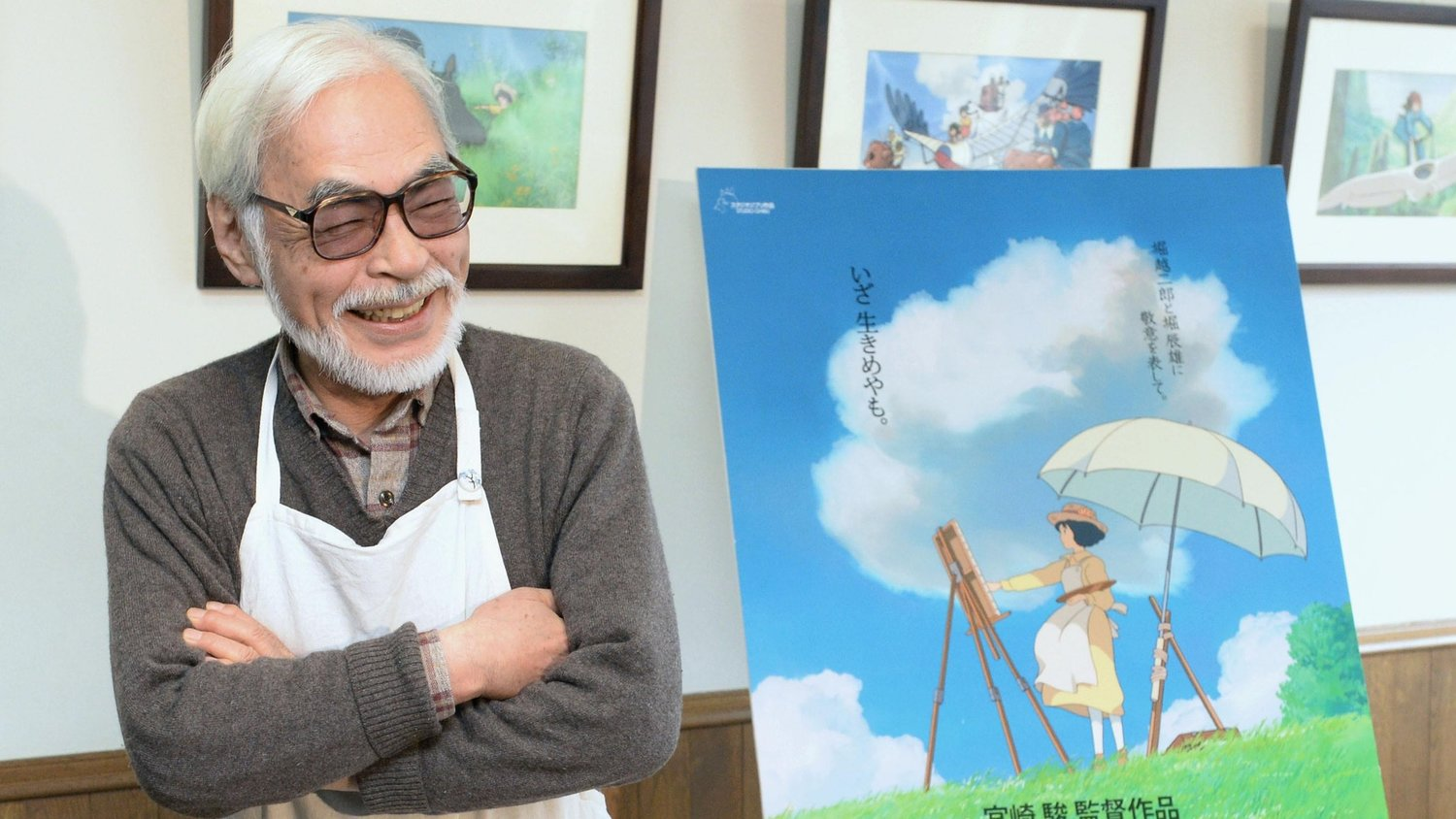 Hayao Miyazaki Comes Out of Retirement to Start Production on His New Anime Feature Film