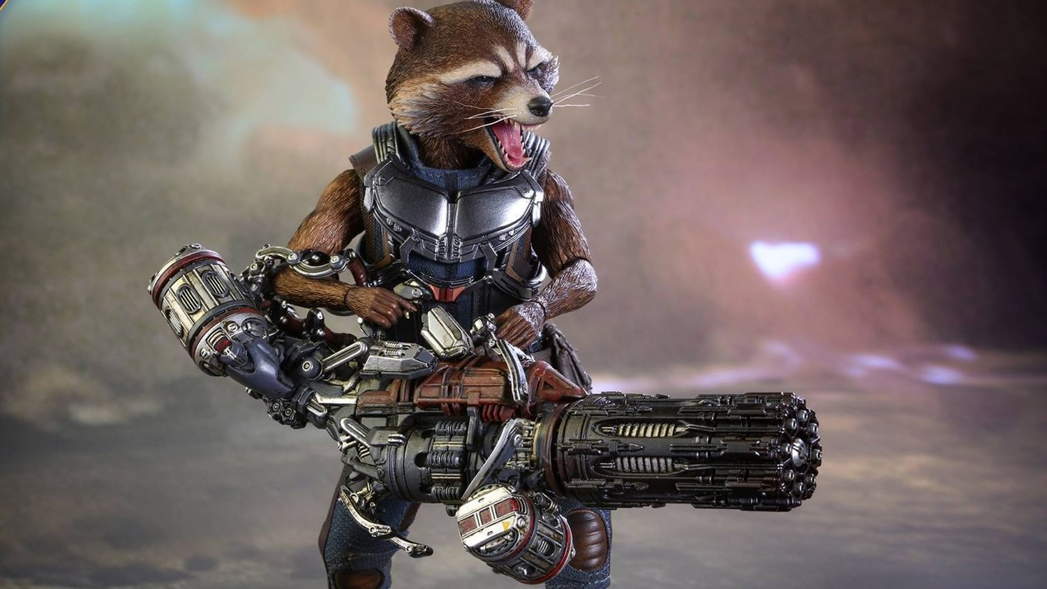 Hot Toys Reveals Their GUARDIANS OF THE GALAXY VOL. 2 Rocket Raccoon Action Figure