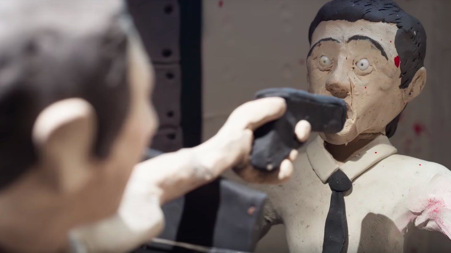 James Gunn's THE BELKO EXPERIMENT Gets a Violent and Bloody Claymation Short