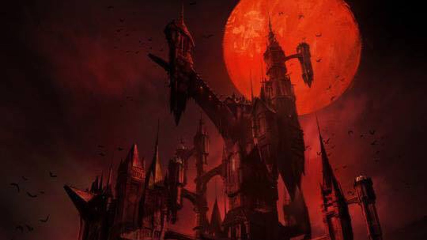 Poster Art for Netflix's CASTLEVANIA Animated Series
