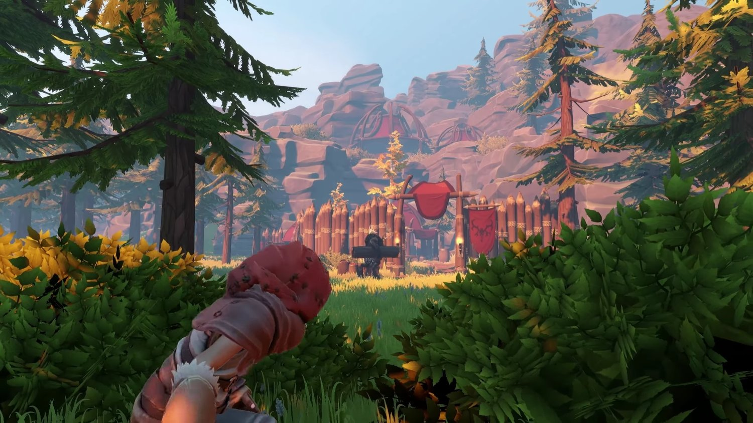 Team Up With Humanoid Moose And Two Legged Mammoths In PINE