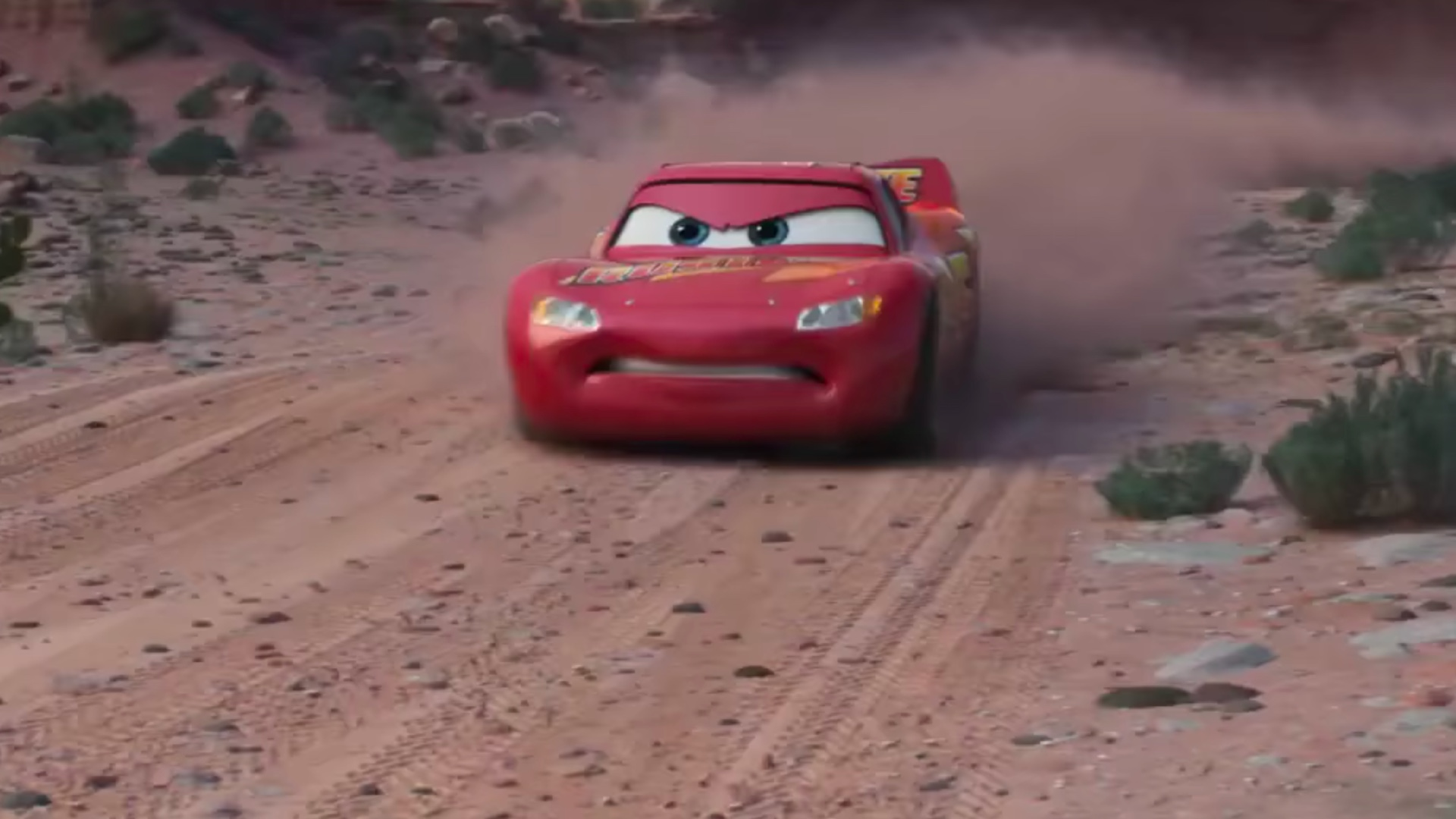 great new trailer for pixar 39 s cars 3 it 39 s not over until lightning strikes geektyrant. Black Bedroom Furniture Sets. Home Design Ideas