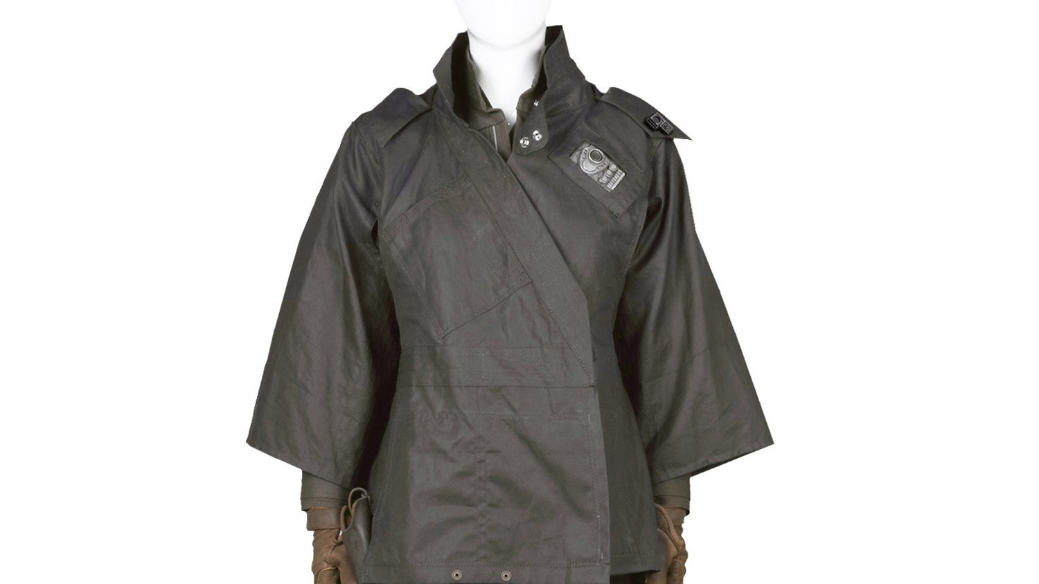 Check Out This Cool ROGUE ONE Jyn Erso Combat Poncho From Anovos