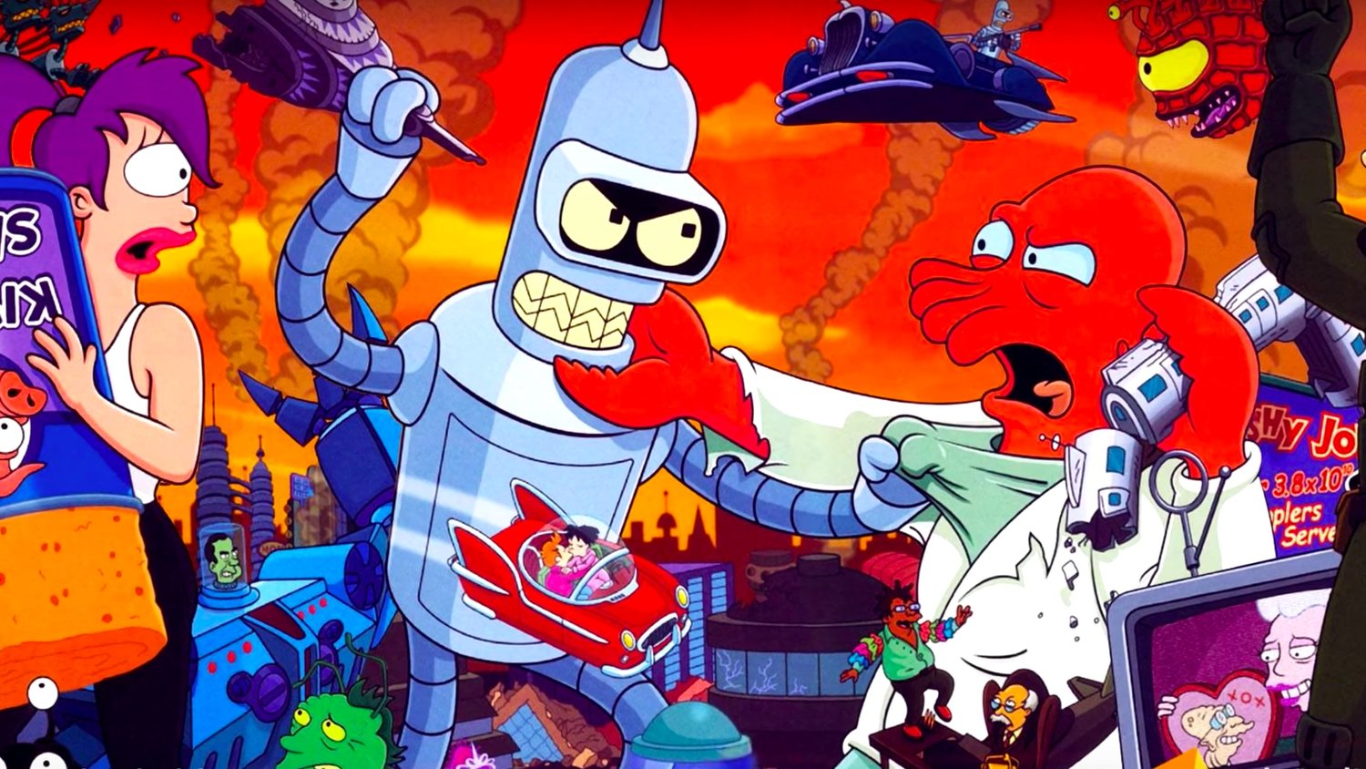 10 Mind-Blowing Facts You Never Knew About FUTURAMA - Video