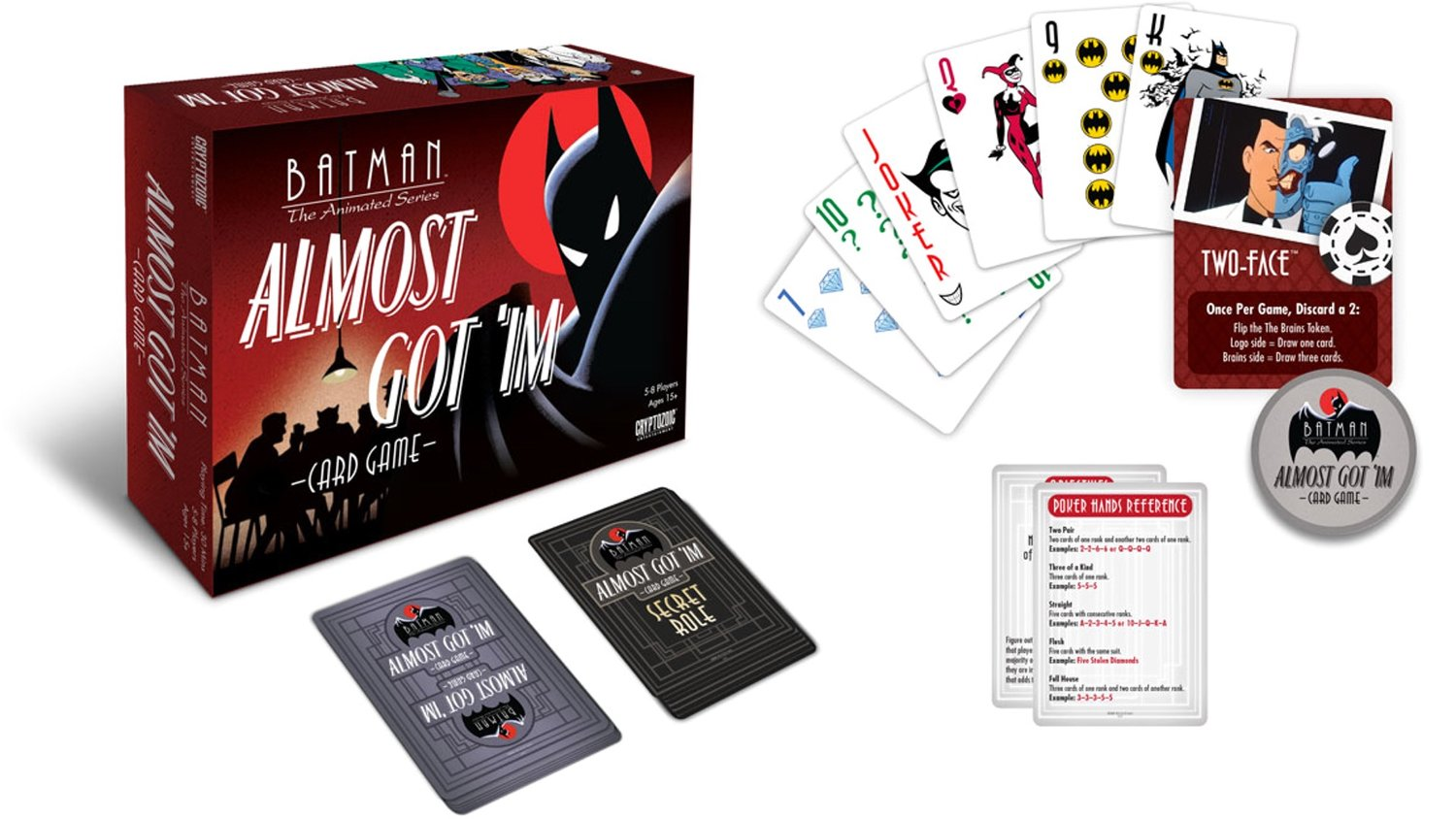 BATMAN: THE ANIMATED SERIES Is Getting Its Own Card Game Based on the Episode