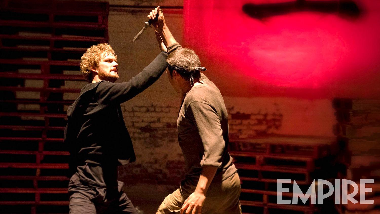 New IRON FIST Photo: Danny Rand Blocks a Knife Attack