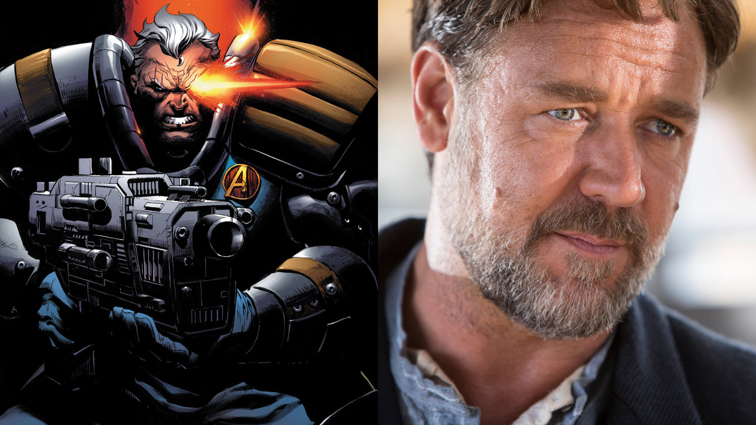 Russell Crowe Responds to Suggestion That He Should Play Cable in DEADPOOL 2