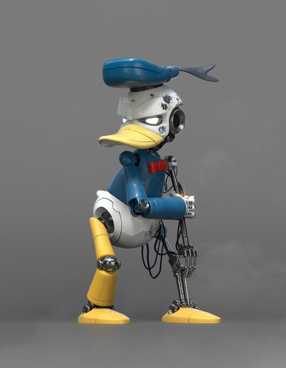 donald-duck-reimagined-as-a-sinister-looking-cyborg