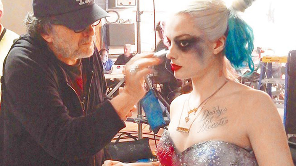 See Harley Quinn In A Wedding Dress SUICIDE SQUAD Photo From Deleted Scene GeekTyrant