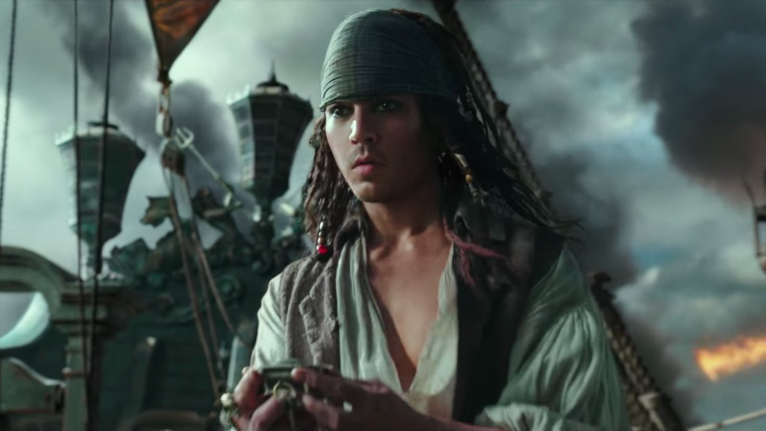 Adventure Filled New PIRATES OF THE CARIBBEAN 5 Trailer Features a Young Jack Sparrow