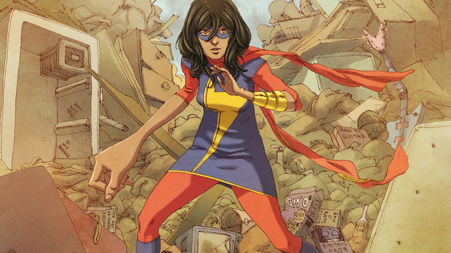 Director Lexi Alexander Says Marvel Should Develop a MS. MARVEL Series Because She's Muslim-American