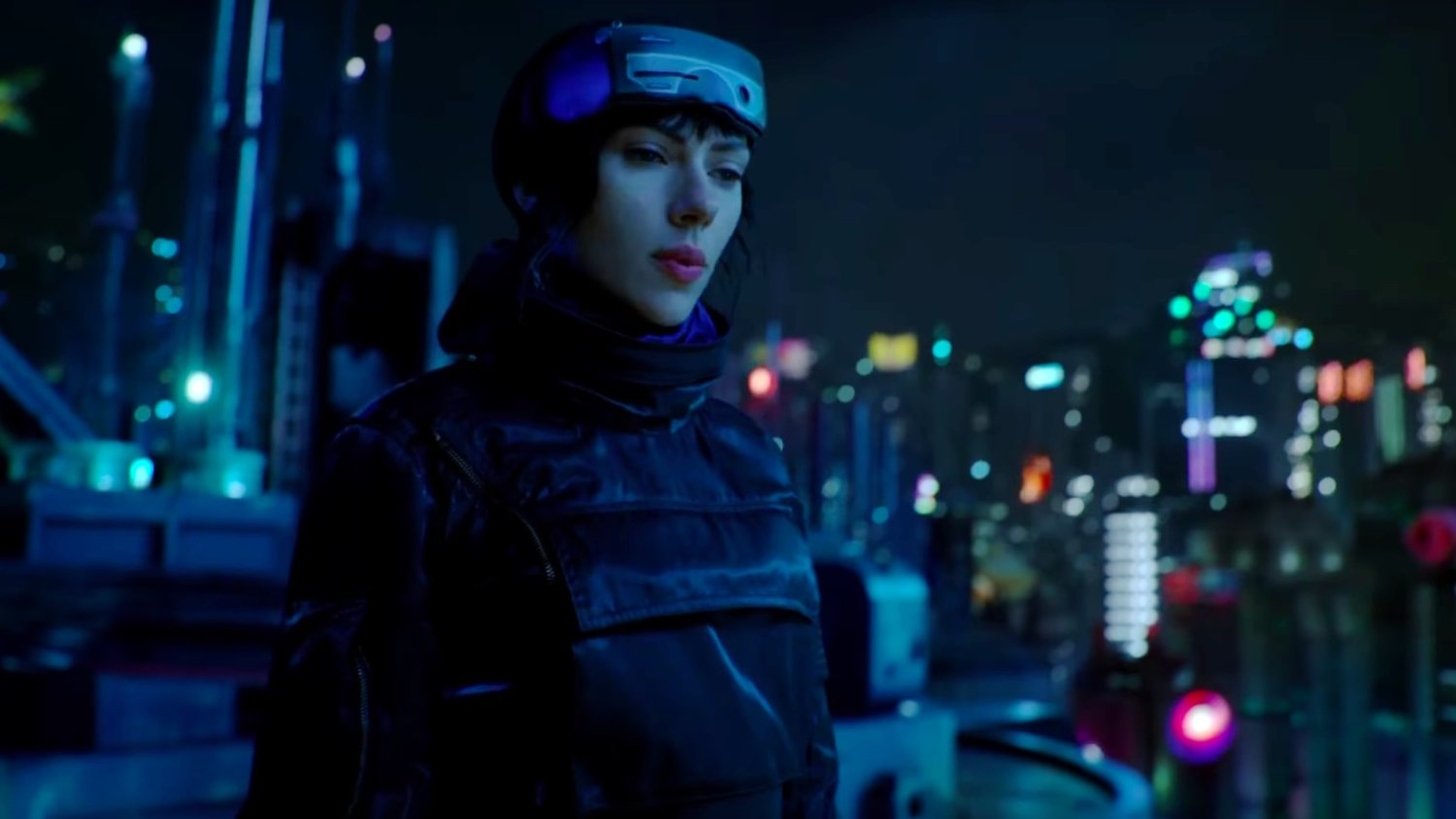 3 New TV Spots for GHOST IN THE SHELL Shows Off Cool New Footage and Story Info