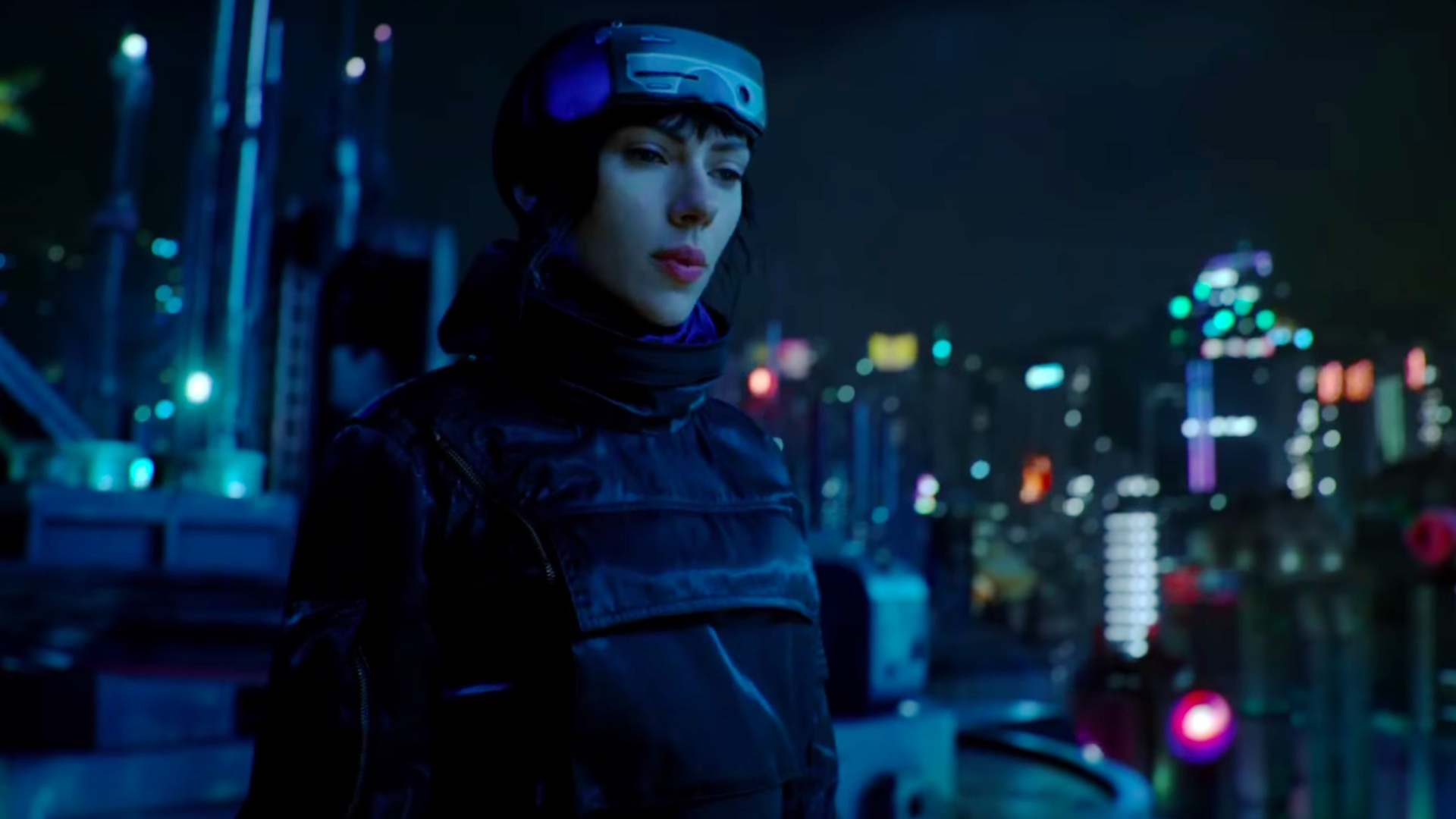 3 New Tv Spots For Ghost In The Shell Shows Off Cool New Footage And