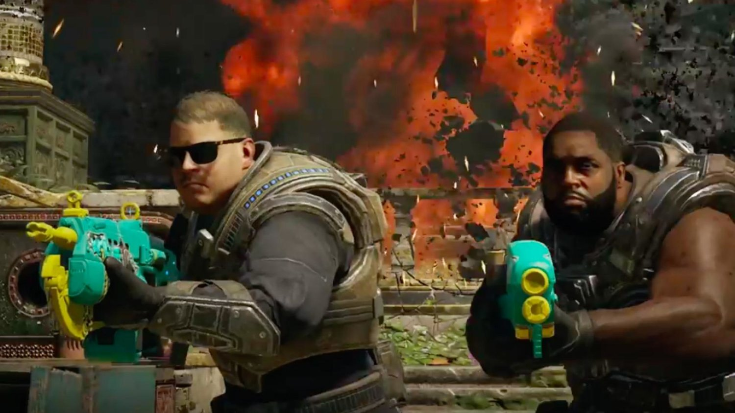 RUN THE JEWELS Can No Longer Say F***boy in GEARS OF WAR 4