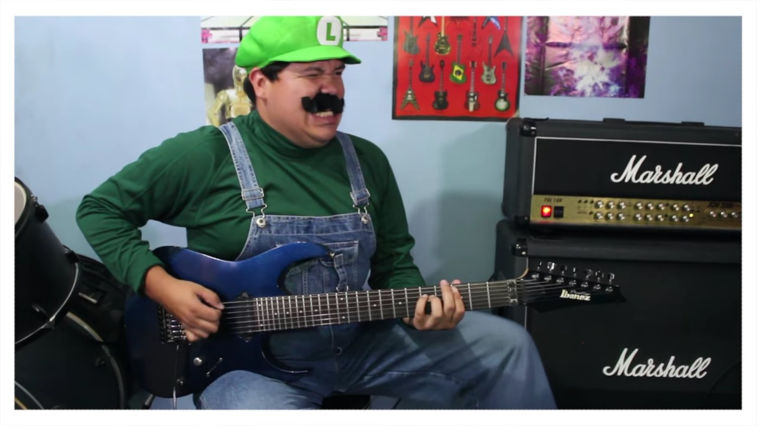 Here's a Badass Metal Cover for the Music of SUPER MARIO WORLD
