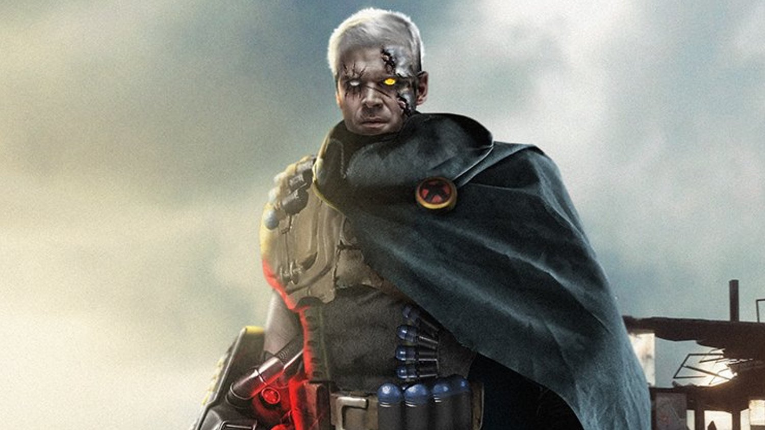 Fan Art Shows STRANGER THINGS Star David Harbour in the Role of Cable in DEADPOOL 2