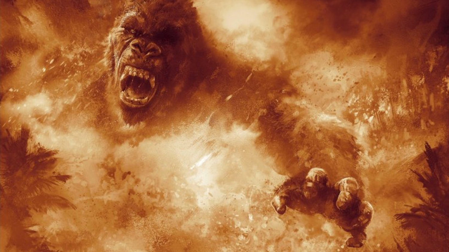 KONG: SKULL ISLAND Gets One Awesome Final Trailer and Some Beautiful Poster Art
