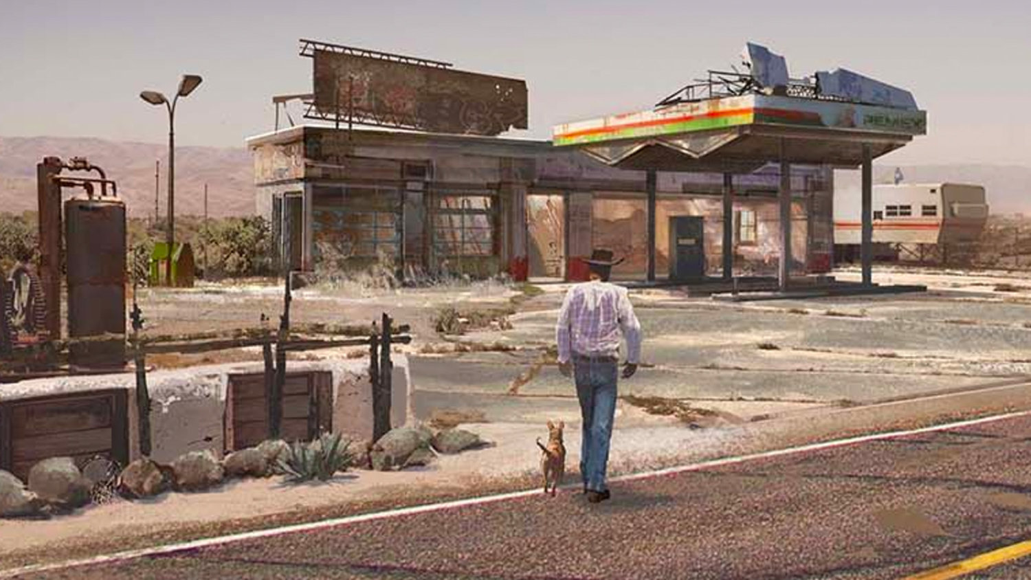 LOGAN Concept Art Shows Off the Dusty World of Wolverine's Future