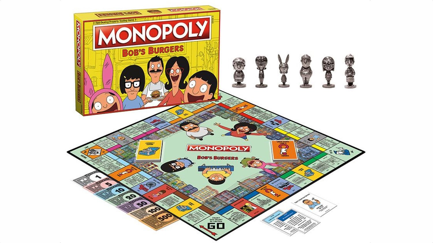 BOB'S BURGERS Gets Its Own Special Edition Monopoly Game
