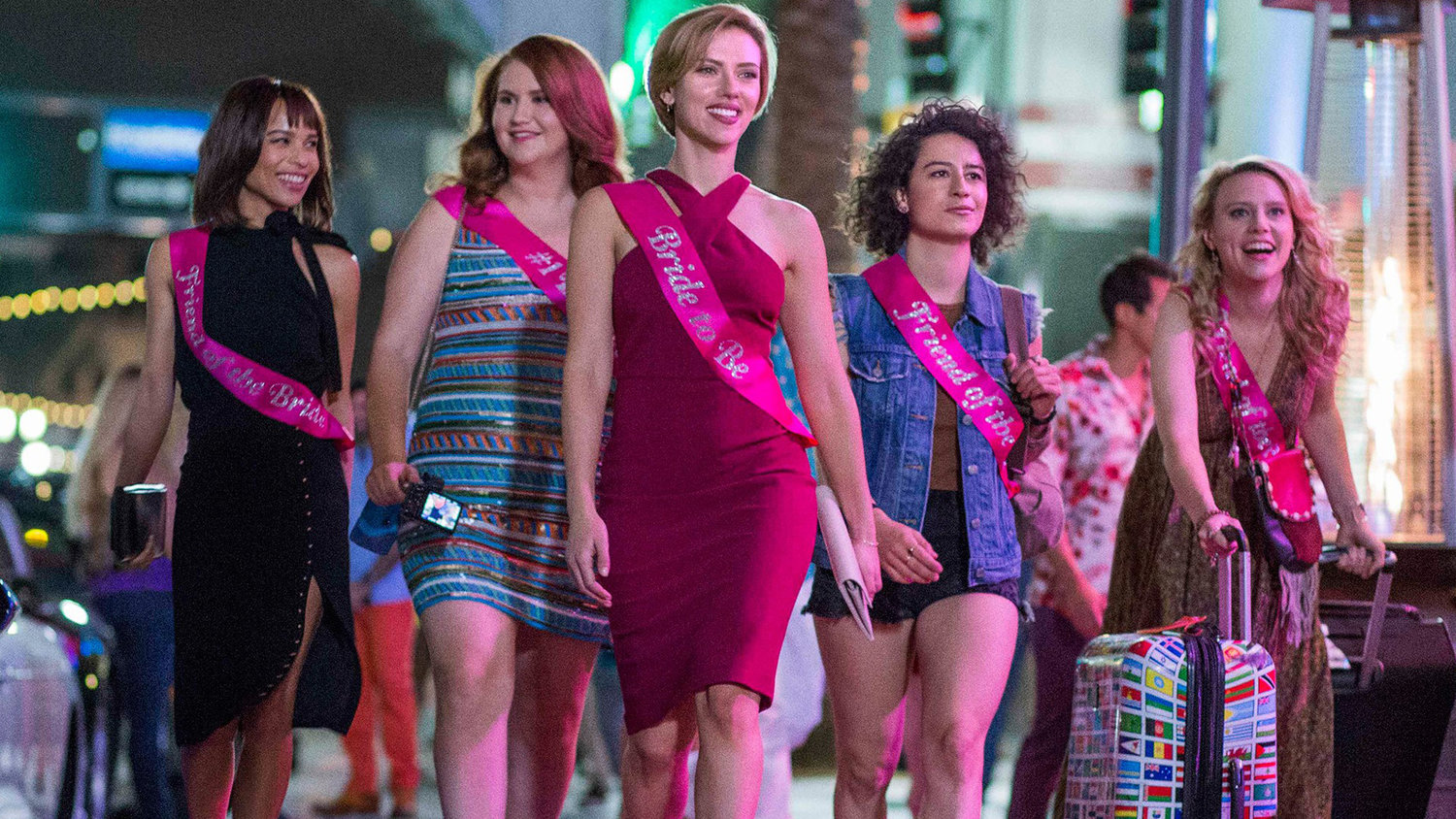 ROUGH NIGHT Red-Band Trailer: Scarlett Johansson, Kate McKinnon, and More Kill a Stripper