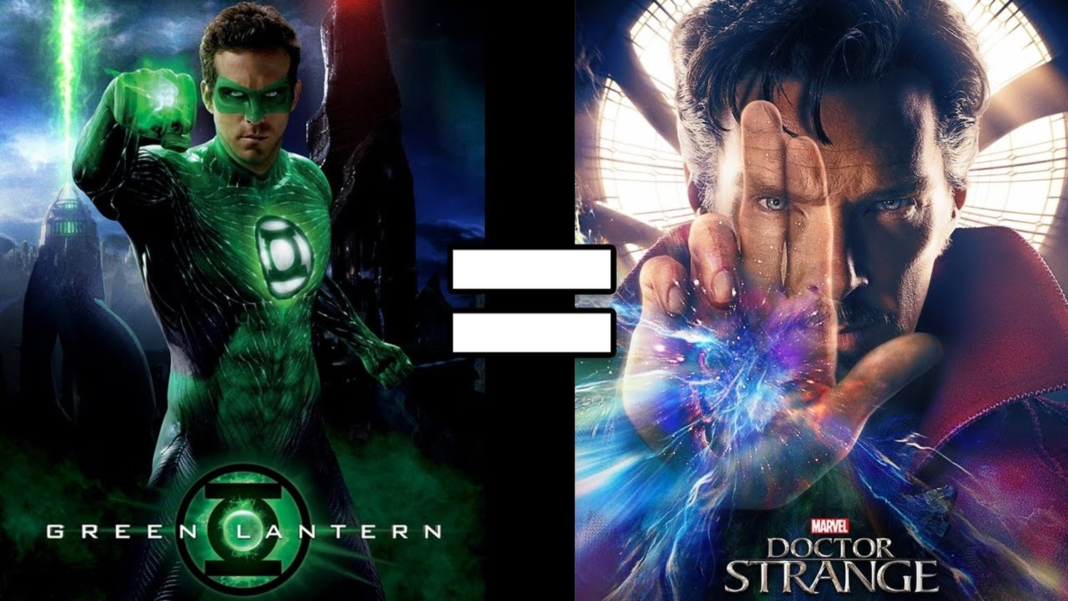 24 Reasons GREEN LANTERN and DOCTOR STRANGE Are the Same Movie