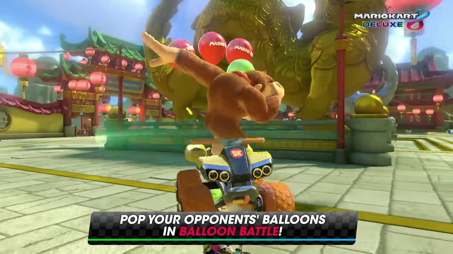 You Can Dab With Donkey Kong in MARIO KART 8 DELUXE