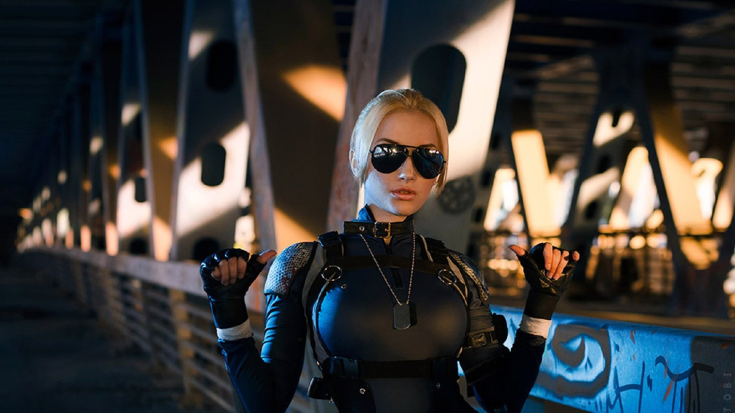 Cassie Cage Is Kicking Ass In This MORTAL KOMBAT X Cosplay