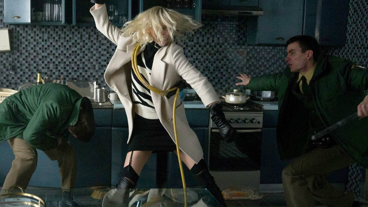 Charlize Theron Kicks JOHN WICK-Style Ass in Red-Band Trailer for ATOMIC BLONDE!