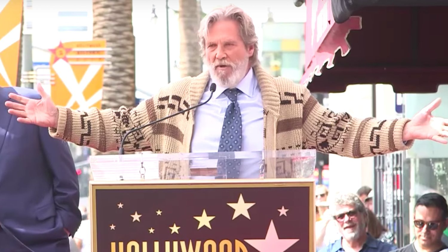Watch Jeff Bridges Channel The Dude to Honor His BIG LEBOWSKI Co-Star John Goodman